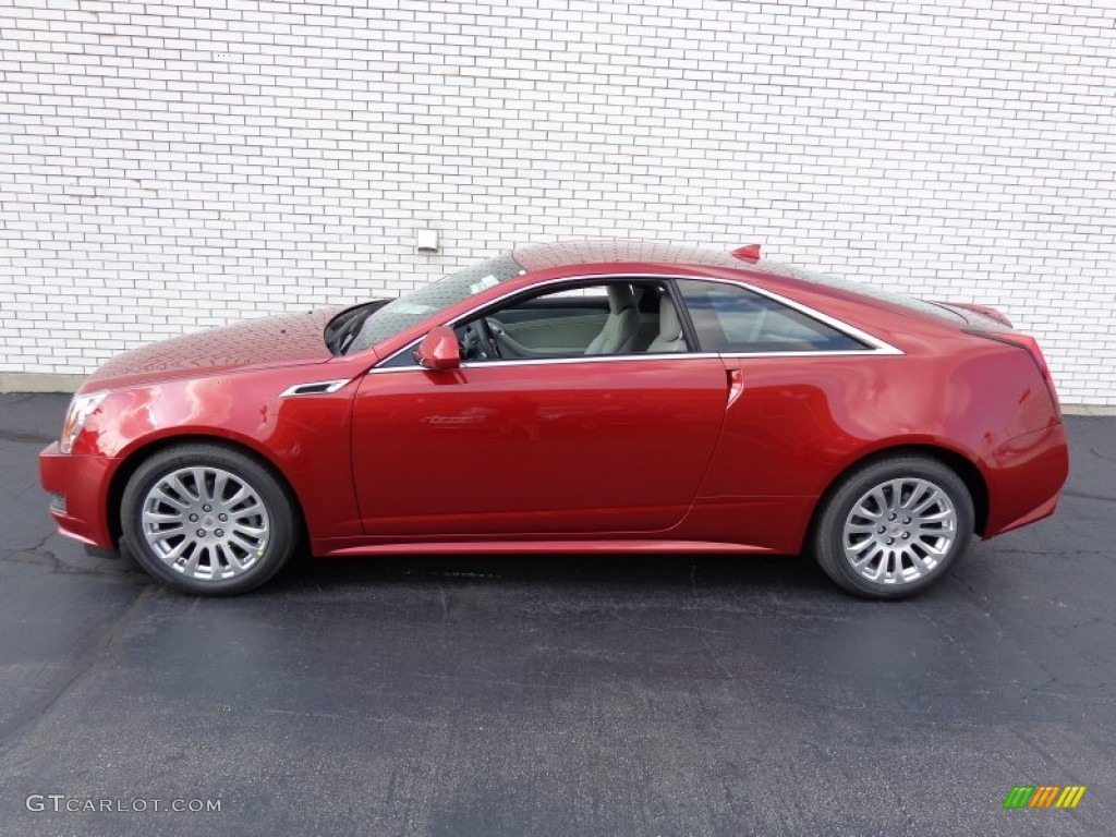Red Obsession Tintcoat 2014 Cadillac Cts Coupe Exterior Photo 84346530 Gtcarlot Com