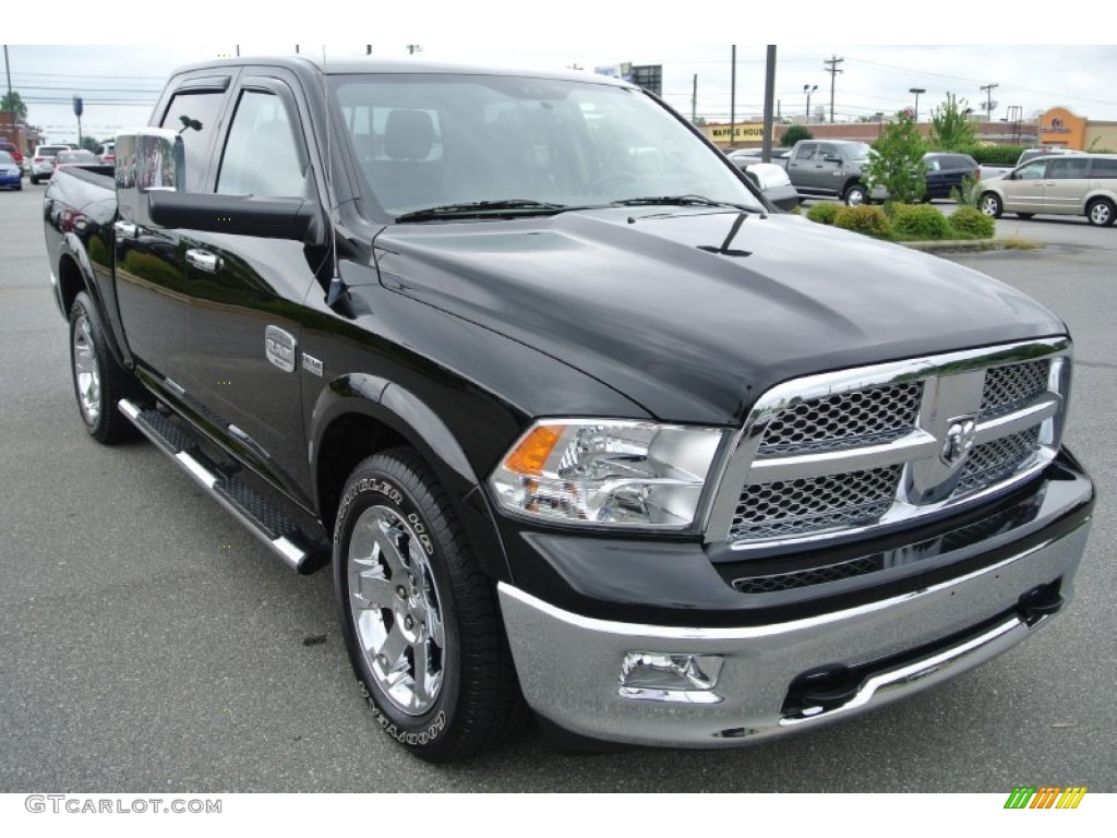2012 dodge ram 1500 laramie longhorn crew cab 4x4 exterior photos. Black Bedroom Furniture Sets. Home Design Ideas