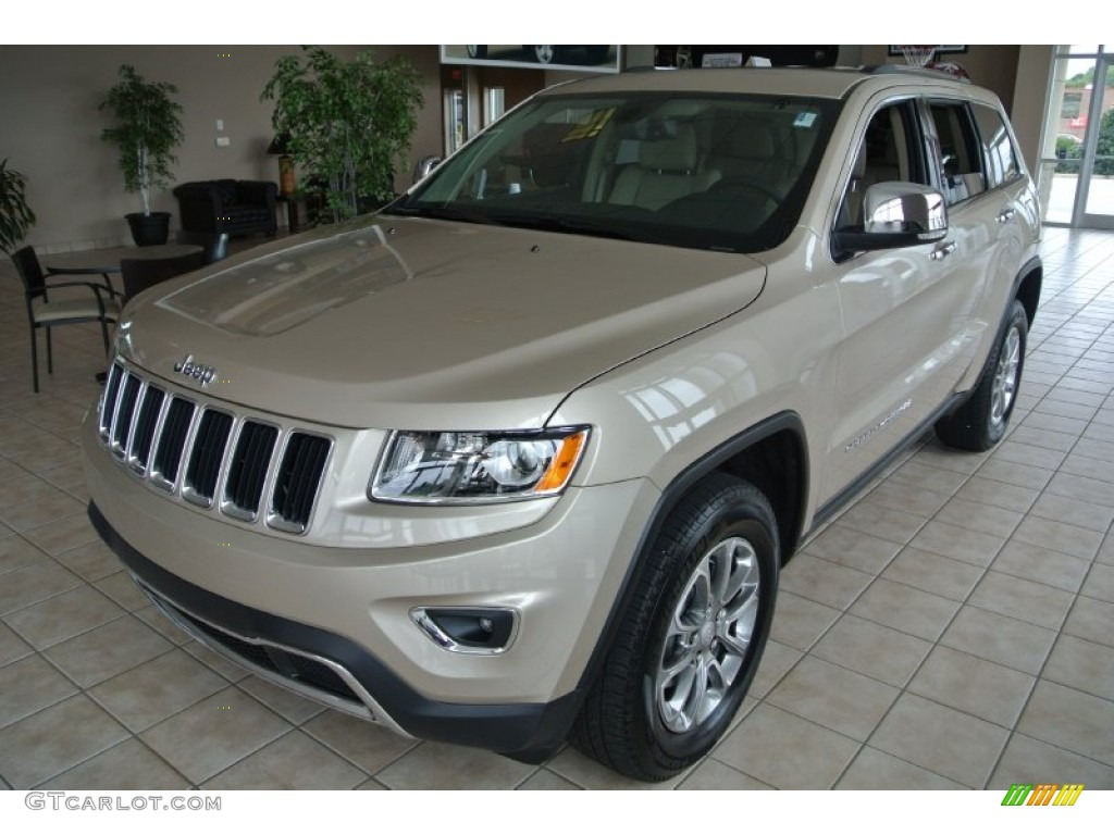 2014 cashmere pearl jeep grand cherokee limited 84312676. Black Bedroom Furniture Sets. Home Design Ideas