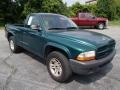 2003 Timberline Green Pearl Dodge Dakota SXT Regular Cab  photo #2