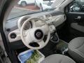 Tessuto Beige-Nero/Nero (Beige-Black/Black) 2012 Fiat 500 Interiors