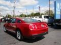 2011 Red Candy Metallic Ford Mustang V6 Coupe  photo #6