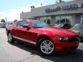 2011 Red Candy Metallic Ford Mustang V6 Coupe  photo #21