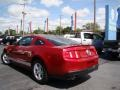 2011 Red Candy Metallic Ford Mustang V6 Coupe  photo #23