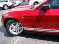 2011 Red Candy Metallic Ford Mustang V6 Coupe  photo #24