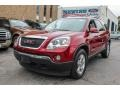 Red Jewel Tintcoat 2007 GMC Acadia SLT