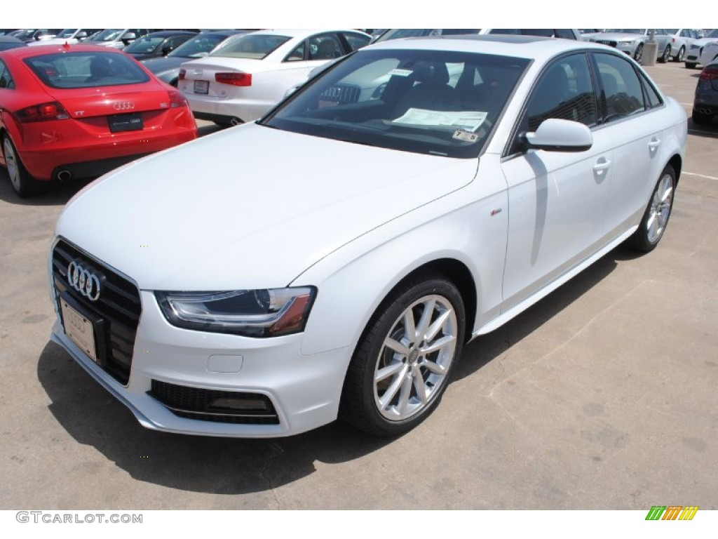 Glacier White Metallic 2014 Audi A4 2 0t Quattro Sedan