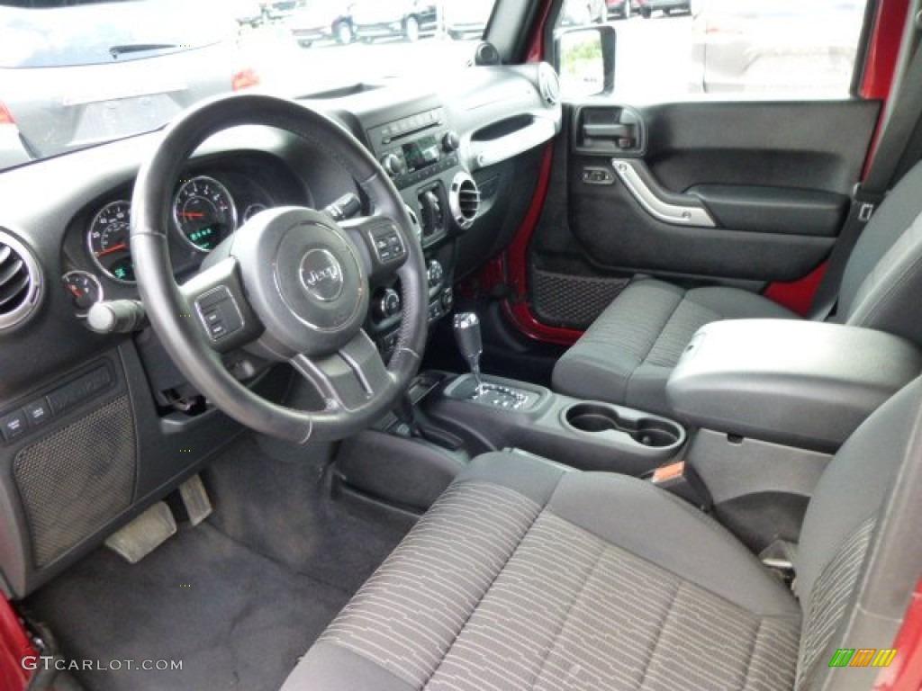2012 jeep wrangler unlimited rubicon 4x4 interior color