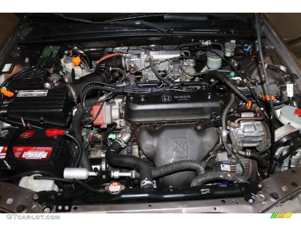1993 Honda Accord Ex Sedan 2 2 Liter Sohc 16 Valve 4