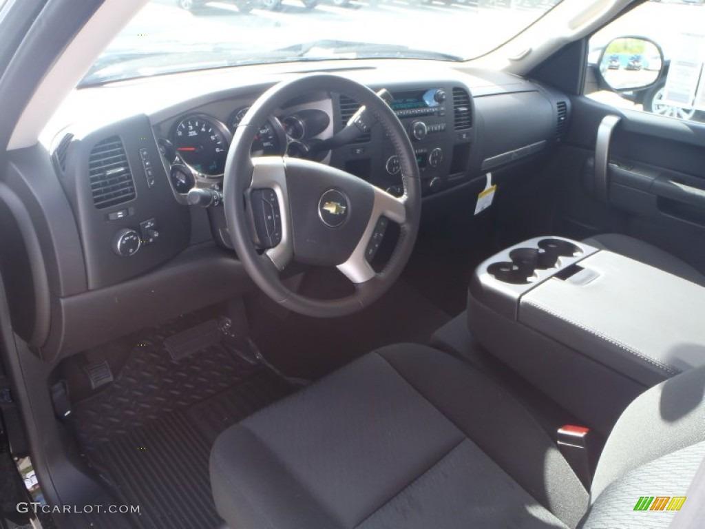 2013 Silverado 1500 LT Extended Cab - Black / Ebony photo #10