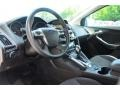 2012 White Platinum Tricoat Metallic Ford Focus Titanium 5-Door  photo #10