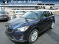 2014 Stormy Blue Mica Mazda CX-5 Grand Touring AWD #84403977