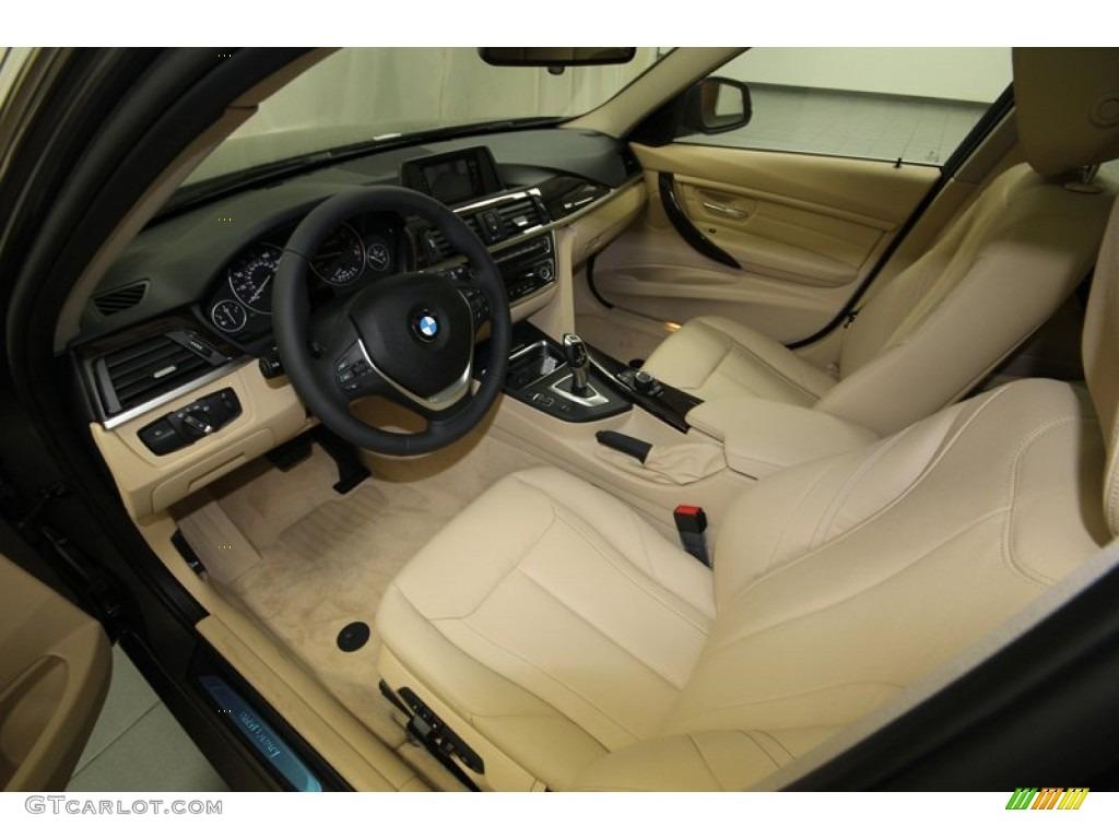 venetian beige interior 2013 bmw 3 series 328i sedan photo