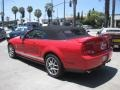 2007 Torch Red Ford Mustang Shelby GT500 Convertible  photo #4
