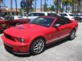 2007 Torch Red Ford Mustang Shelby GT500 Convertible  photo #5