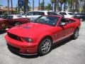 2007 Torch Red Ford Mustang Shelby GT500 Convertible  photo #6