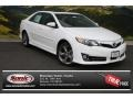 Super White 2013 Toyota Camry Gallery