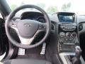 2013 Black Noir Pearl Hyundai Genesis Coupe 3.8 Track  photo #23
