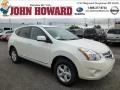 Pearl White 2013 Nissan Rogue Gallery