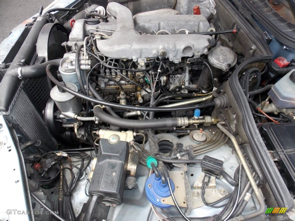 1991 mercedes benz s class 350 sdl 3 5 liter sohc 12 valve for Mercedes benz 5 cylinder diesel engine