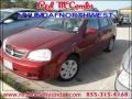 Fusion Red Metallic 2007 Suzuki Forenza Sedan