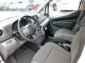 2013 Nissan NV200 Gray Interior Prime Interior Photo