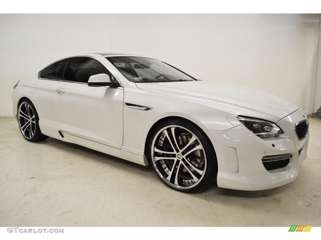 Mineral White Metallic 2012 Bmw 6 Series 650i Coupe