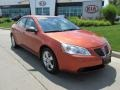 Fusion Orange Metallic 2006 Pontiac G6 GT Sedan