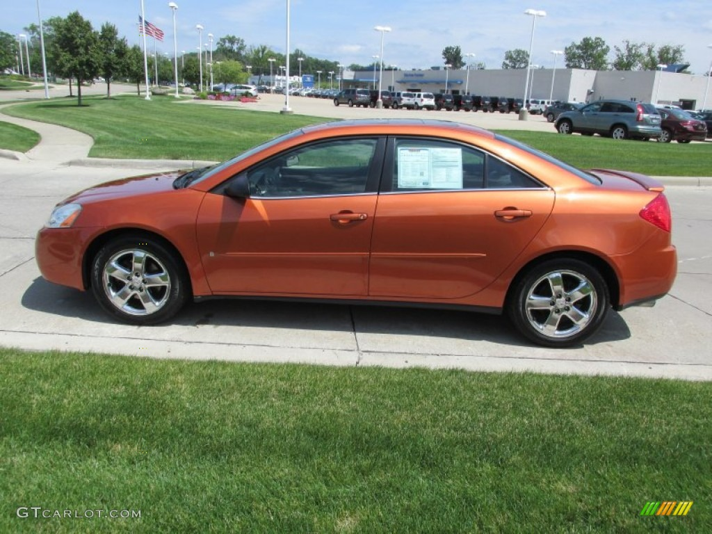 fusion orange metallic 2006 pontiac g6 gt sedan exterior photo. Black Bedroom Furniture Sets. Home Design Ideas