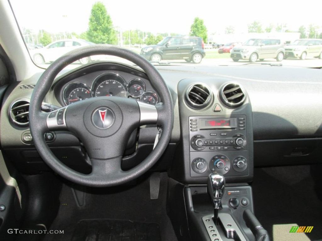 2006 Pontiac G6 Gt Sedan Ebony Dashboard Photo 84468317