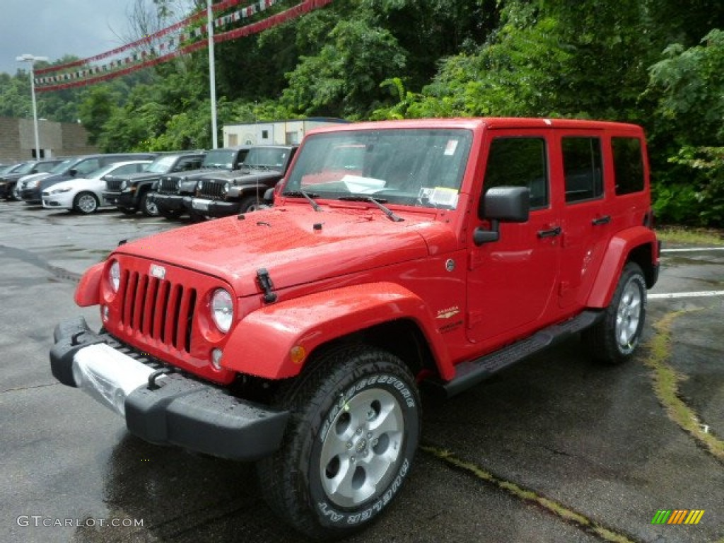2014 flame red jeep wrangler unlimited sahara 4x4 84449986 gtcarlot. Cars Review. Best American Auto & Cars Review