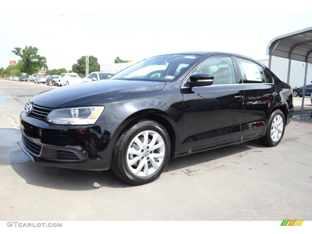 Black 2014 volkswagen jetta se sedan exterior photo 84474773 gtcarlot com