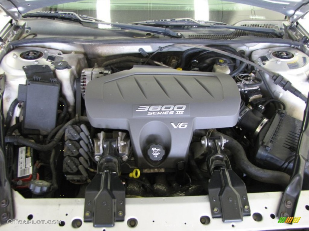 2004 Pontiac Grand Prix GT Sedan 3.8 Liter 3800 Series III ...