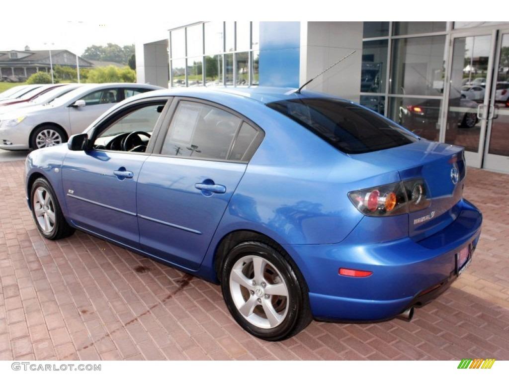 Winning Blue Mica 2005 Mazda MAZDA3 s Sedan Exterior Photo ...
