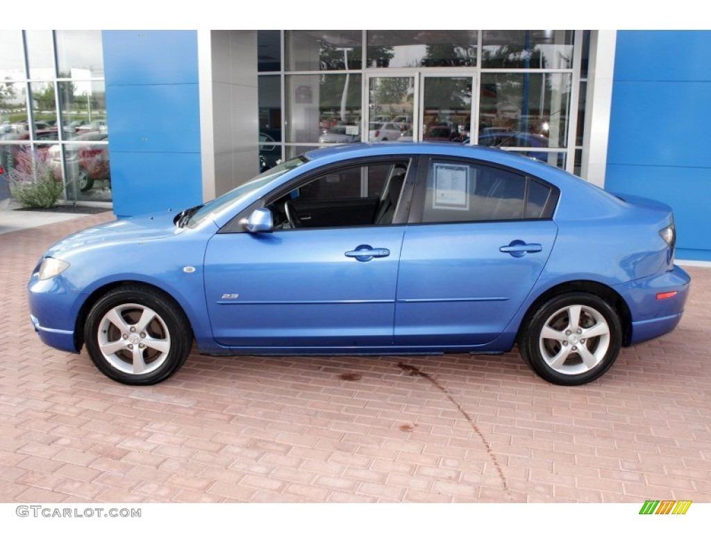 Winning blue mica 2005 mazda mazda3 s sedan exterior photo for Mazda 3 exterior colors