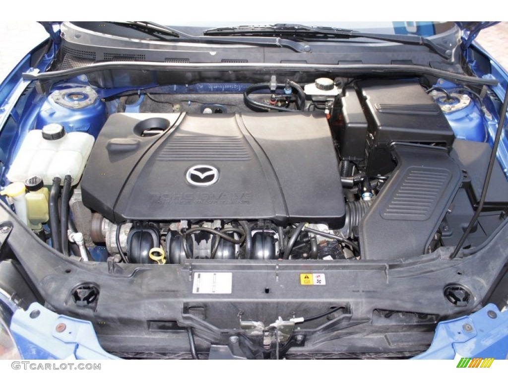 2005 mazda mazda3 s sedan engine photos. Black Bedroom Furniture Sets. Home Design Ideas