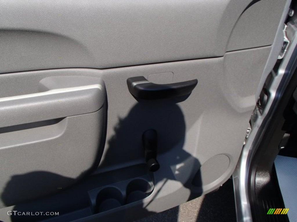 2013 Silverado 1500 Work Truck Regular Cab - Silver Ice Metallic / Dark Titanium photo #12