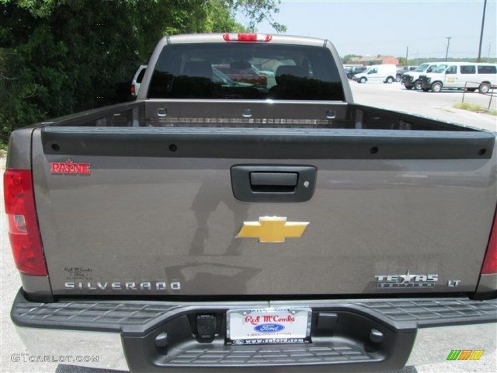 2012 Silverado 1500 LT Extended Cab - Mocha Steel Metallic / Ebony photo #5