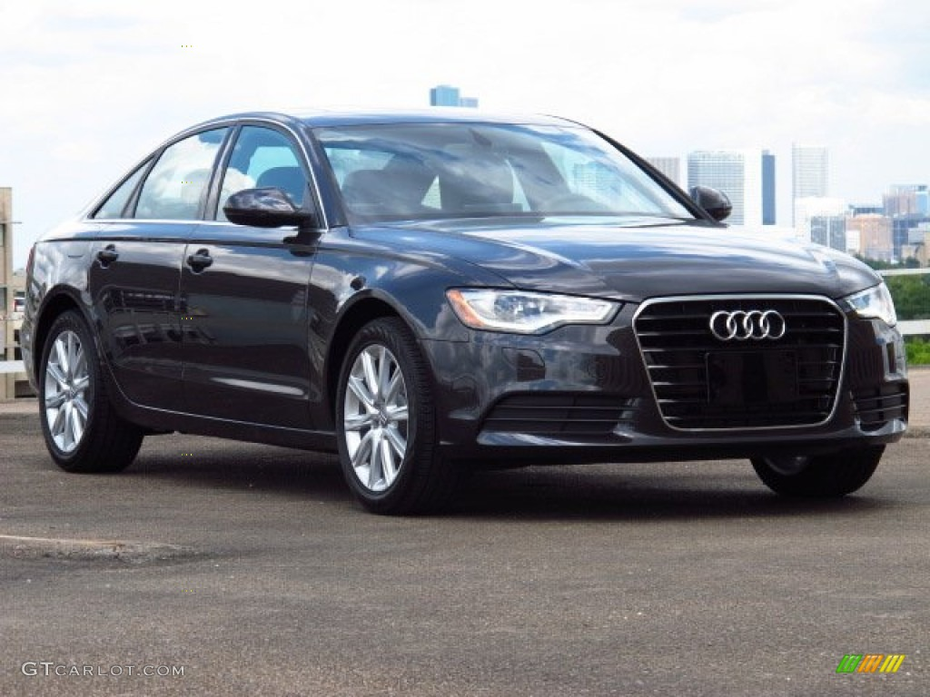 2014 oolong gray metallic audi a6 2 0t sedan 84478237 car color galleries. Black Bedroom Furniture Sets. Home Design Ideas