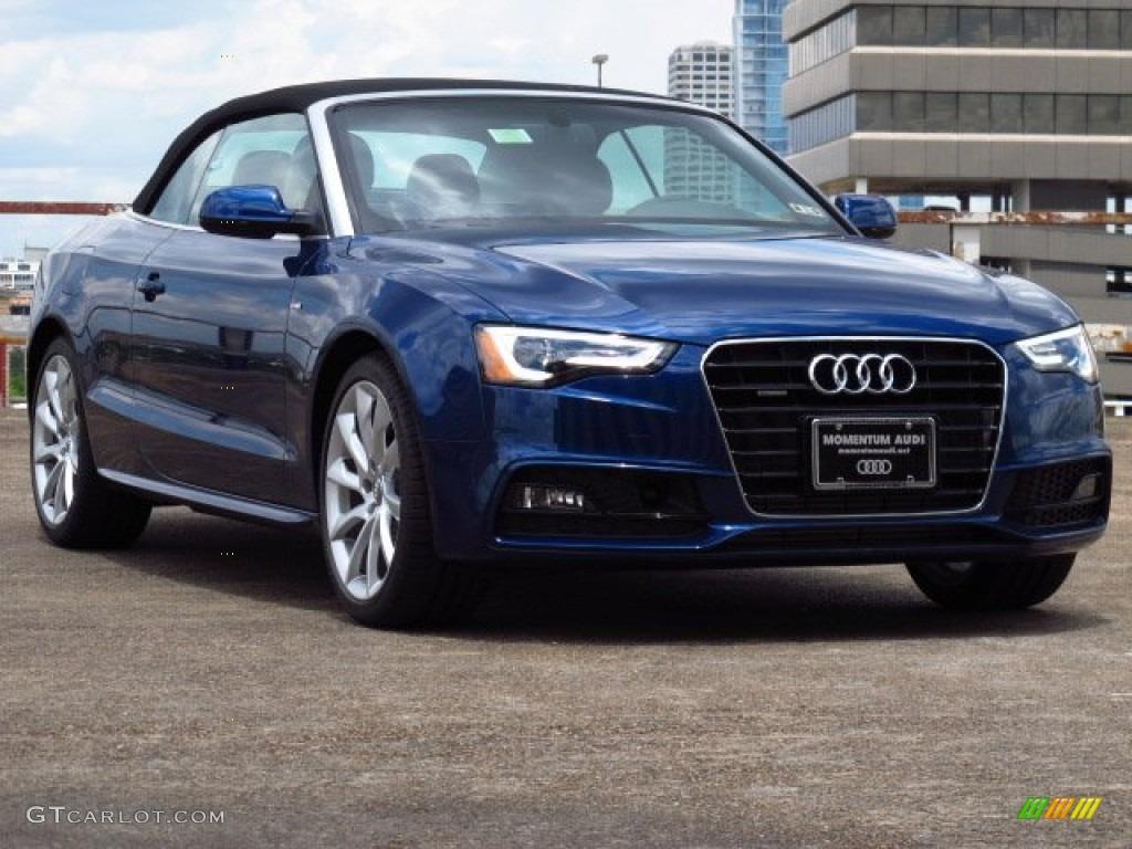 2014 Scuba Blue Metallic Audi A5 2 0t Quattro Cabriolet 84478235 Gtcarlot Com Car Color Galleries