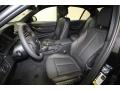 Black Front Seat Photo for 2014 BMW 3 Series #84521344