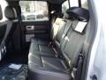 Rear Seat of 2013 F150 Lariat SuperCrew 4x4