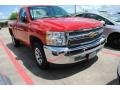 2012 Victory Red Chevrolet Silverado 1500 LS Regular Cab  photo #1