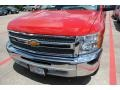 2012 Victory Red Chevrolet Silverado 1500 LS Regular Cab  photo #2