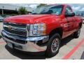 2012 Victory Red Chevrolet Silverado 1500 LS Regular Cab  photo #3