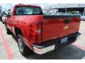 2012 Victory Red Chevrolet Silverado 1500 LS Regular Cab  photo #4