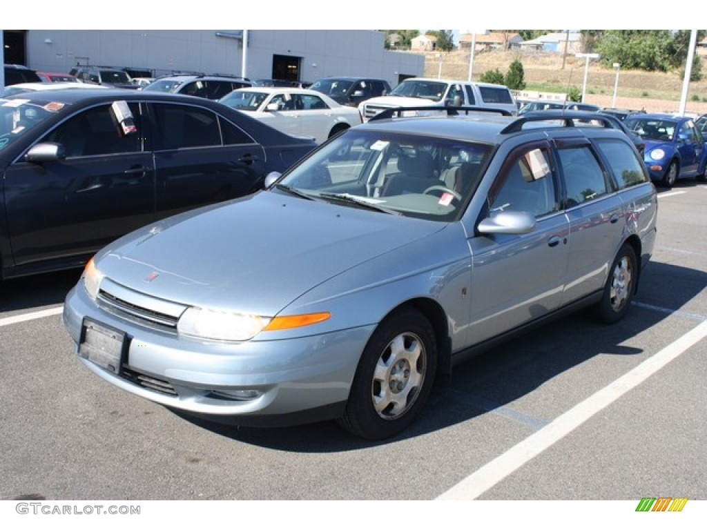 Silver blue 2002 saturn l series lw300 wagon exterior photo 84548458
