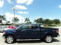 Dark Blue Pearl Metallic - F150 Lariat SuperCrew 4x4 Photo No. 12