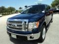 Dark Blue Pearl Metallic - F150 Lariat SuperCrew 4x4 Photo No. 14