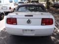 2006 Performance White Ford Mustang V6 Premium Convertible  photo #5